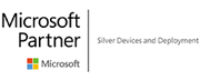Logo agrément Microsoft Partners Silver Devices and Deployment