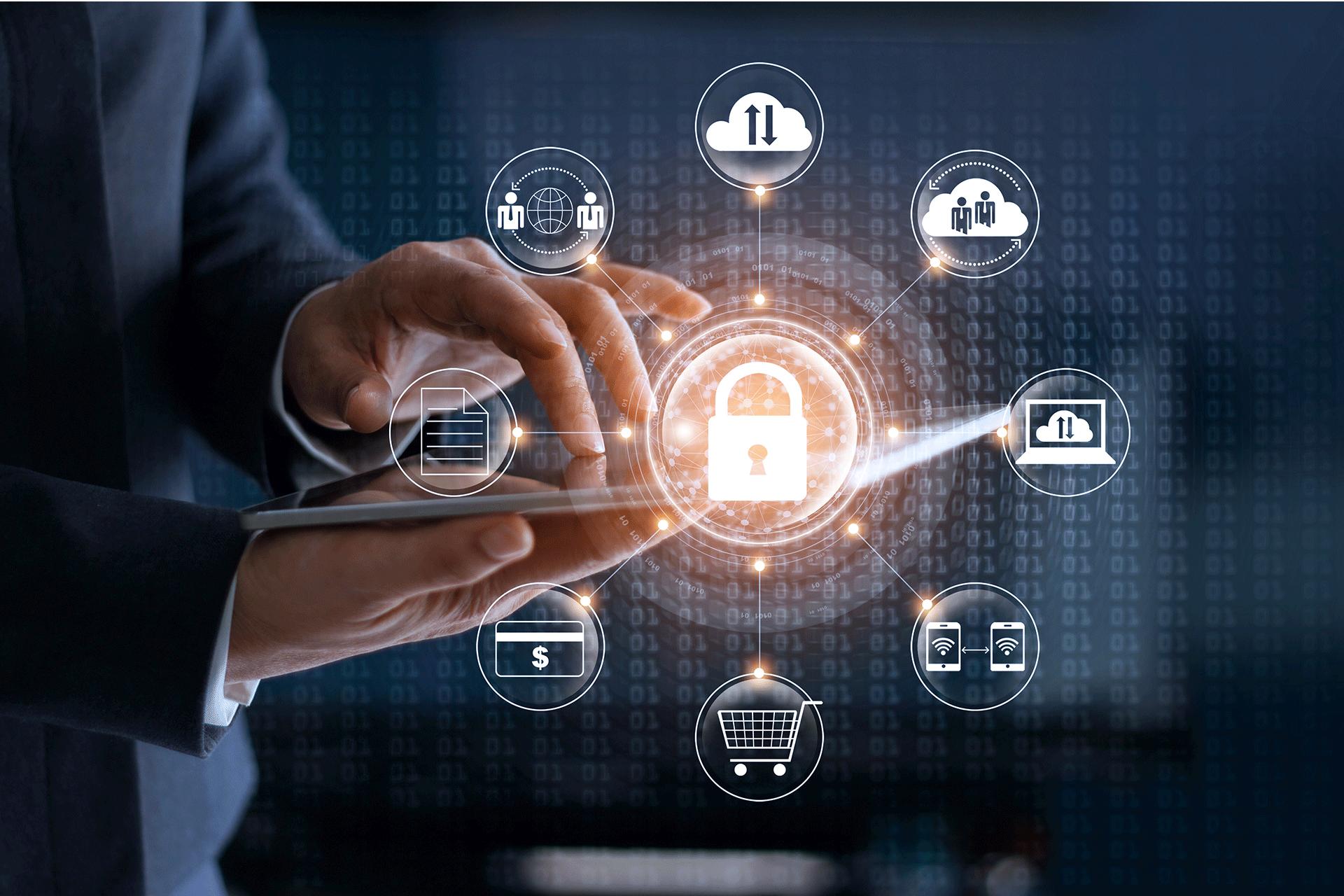 Ordinateur sécurisé avec accès à plusieurs applications