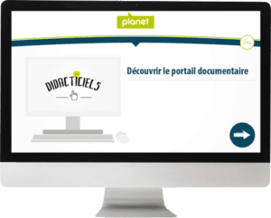 Capture d'écran d'un Elearning