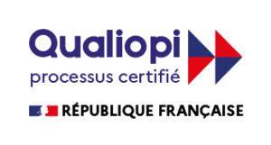 Logo Officiel QUALIOPI - La certification Qualité QUALIOPI a été délivrée au titre de la catégorie d'actions suivante : Actions de formation